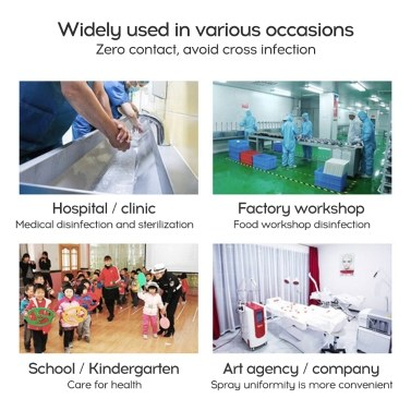 Anti-virus Disinfection Sprayer Wall Mounted Induction Disinfection Machine 【Battery Version】