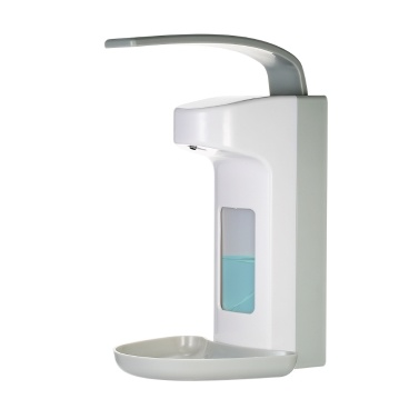 500ml Elbow-press Soap Dispenser Single Bottle Manual Shampoo Box Rest Room Hand Sanitizers Hand Washing Liquid Dispenser Washroom Shampoo Shower Gel Machine Toilet Liquid Soap Dispenser Wall-mounted Soap Dispenser & Holder