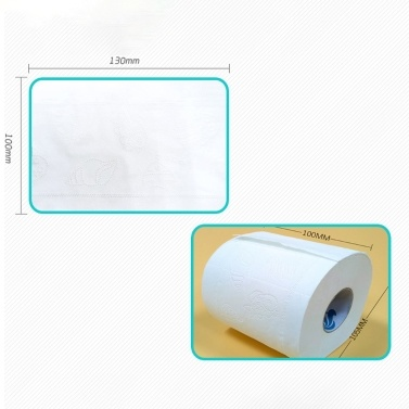 10rolls Soft Toilet Roll Paper Tissue 4-layers Household Rollss Paper Without Adjunct Non-Smell Home Bathroom Kitchen Accessories