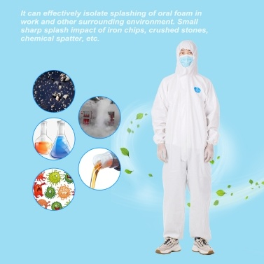 Coverall Medical High Antibacterial Reusable Isolation Suit