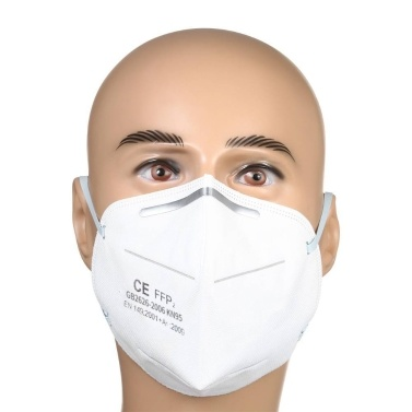 20 PCS Disposable KN95 Mask FFP2 Soft Breathable Protective Mask Safety Masks Non-woven Fabric Face Mouth Mask for Dust Particles Pollution Daily Use Construction Site Outdoor Activities
