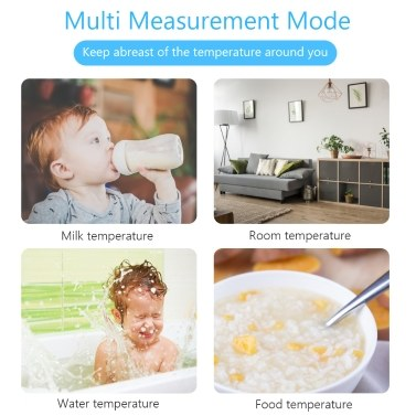 Non-Contact Forehead Thermometer Digital LCD Display Infrared Thermometer with Fever Alarm for Baby,Kids, Adults