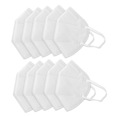10Pcs Anti Pollution Mask, KN95 Particulate Respirator Dust Masks, Anti-Dust, Smoke, Gas, Allergies, and Personal Protective Equipment, Non-medica