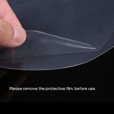 10Pcs Face Shield Anti-Saliva Transparent Anti-Splash Splatter Full Isolation Dust-proof Protective Cover