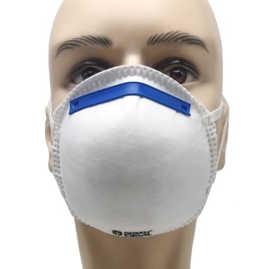 20pcs Disposable FFP2 Face Masks Dustproof 4-Ply 95% Filtration Cup Type Mouth Mask Face Cover Health Protection Mask