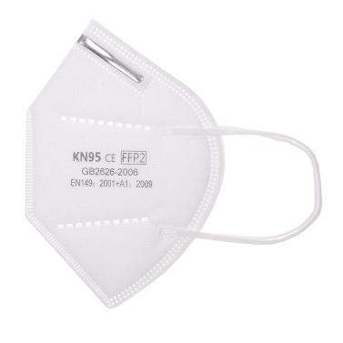 10pcs KN95 Face Mask Adult Dustproof Non-Woven Fabrics Mask 95% Filtration