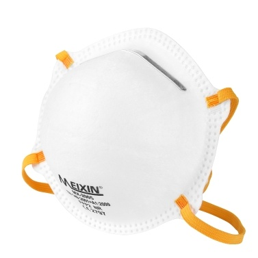 20pcs FFP2 Cup Type 3-layer Civilian Masks Dustproof Breathable Face Mask Respirator Multifunctional Non-woven Mask without Breathing Valve