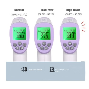 Non-contact IR Infrared Thermometer Forehead Digital Temperature Measurement