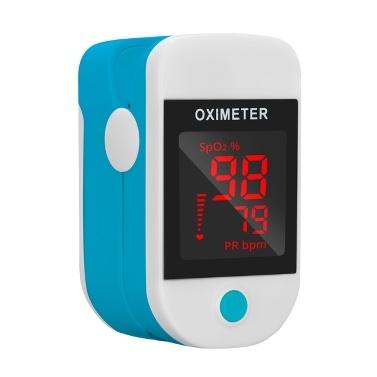 Fingertip Pulse Oximeter Mini SpO2 Monitor Oxygen Saturation Monitor Pulse Rate Measuring Gauge Device  5s Rapid Reading