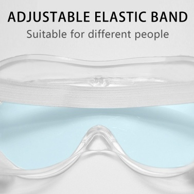 Multi-function Closed Safety Protective Glasses Goggles Saliva Splashing and Anti-Fog Antisand Windproof Dust Resistant Transparent Outdoor Sport