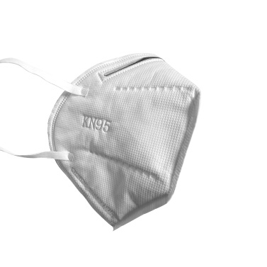 Disposable KN95 Respirator Protective Face Mask Filtration Efficiency > 95% Ear-loop Style Pack of 10