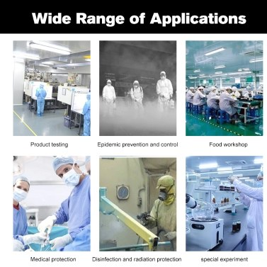 Coverall Disposable Anti-epidemic Isolation Suit Prevent Invasion for Staff Protective Clothing Dust-proof Coveralls Antistatic