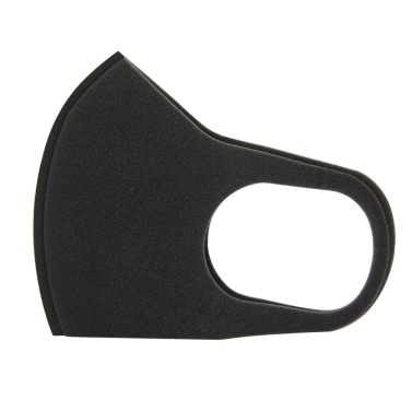 Odor-free Riding Dust-proof and Anti-fog Mask Sponge Black 1PC