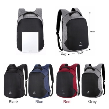Multi-function Large Capacity Charge Travel Security Bag Anti-theft Shoulder Bags USB Charging Package Outdoor Shoulder Bag Anti Lost Backpack Laptop Cases
